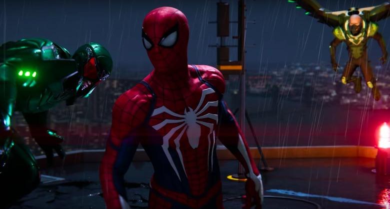 marvel's spider-man video game trailer