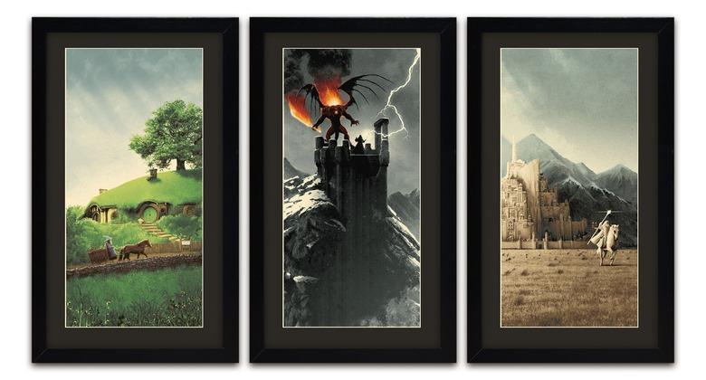 Matt Ferguson's Lord of the Rings Trilogy Print Set