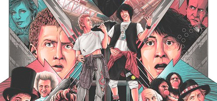BIll & Ted's Excellent Adventure Print