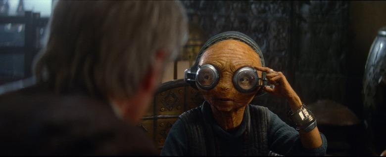Maz Kanata Last Jedi