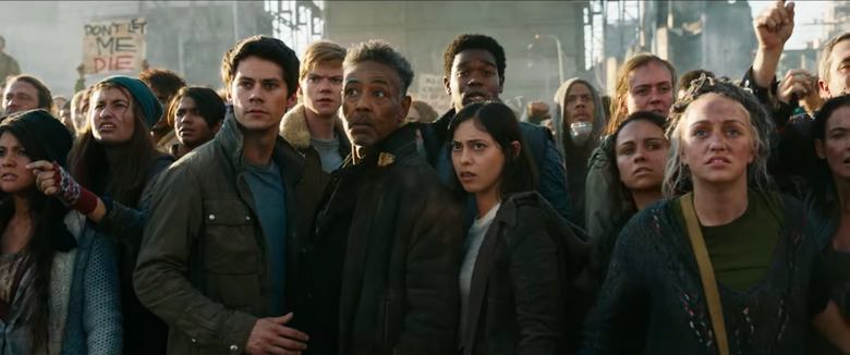 maze runner the death cure clips