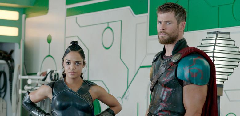Men in Black Reboot - Tessa Thompson and Chris Hemsworth in Thor: Ragnarok
