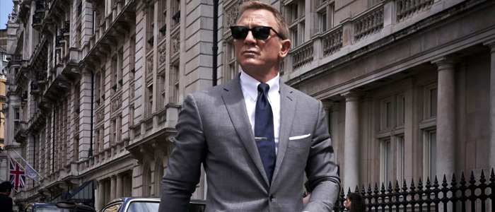 Daniel Craig No Time to Die suit