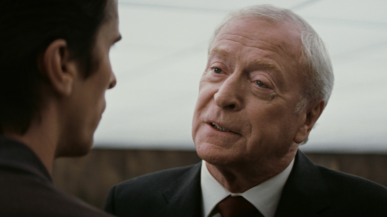 Michael Caine Says He Spent Eight Years Trying To Not Blink On Camera