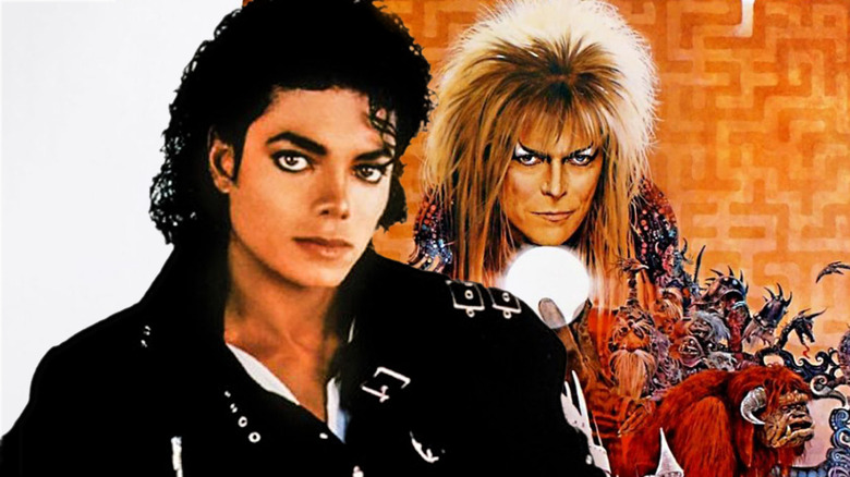 Michael Jackson David Bowie Labyrinth