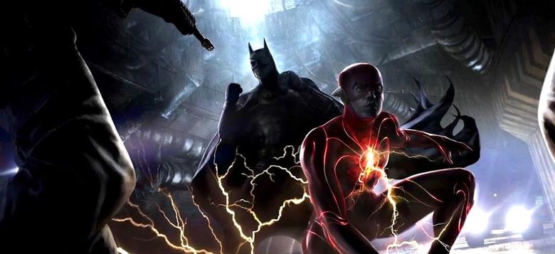 Michael Keaton as Batman in The Flash