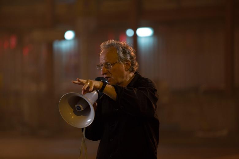 Michael Mann directing Blackhat