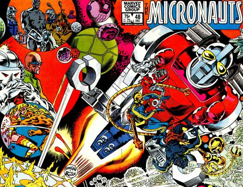 Micronauts animated series