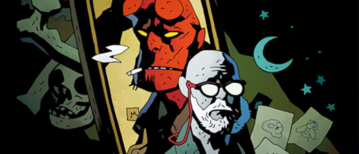 Mike Mignola Drawing Monsters