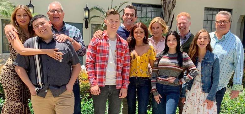 Modern Family Flashback Photo
