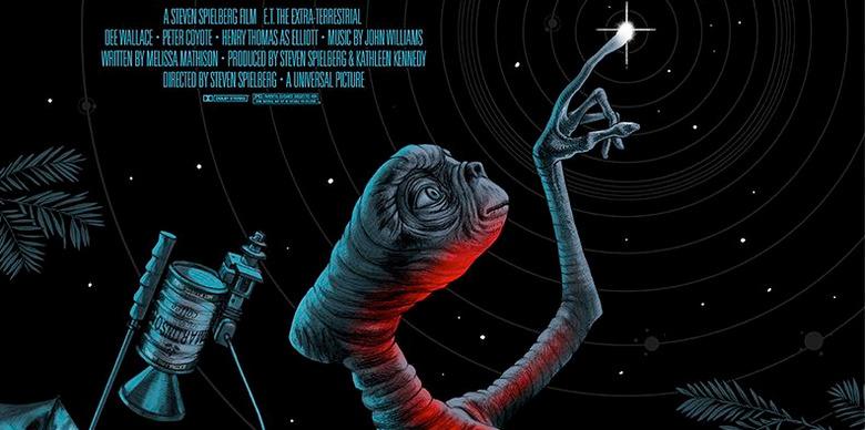 Mondo E.T. The Extra Terrestrial Print