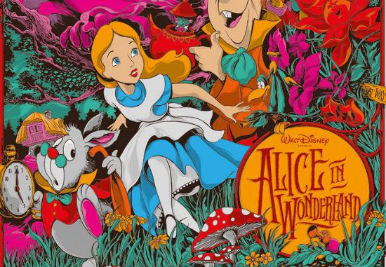 Ken Taylor - Alice in Wonderland header