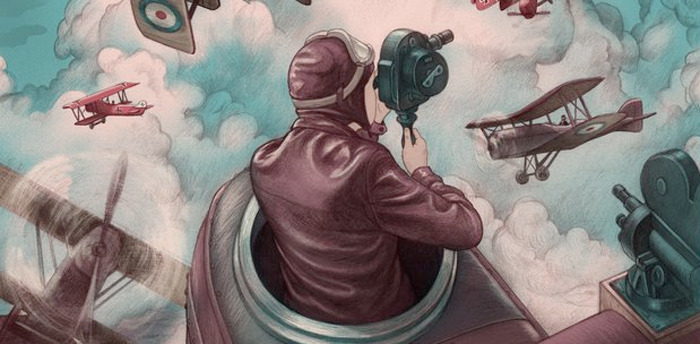 The Aviator Print - Jonathan Burton