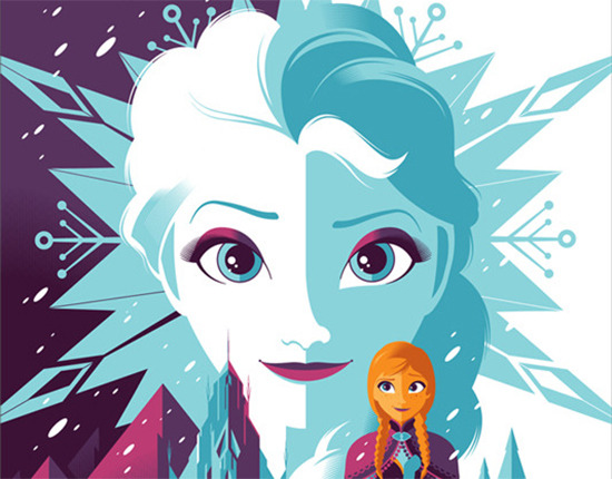 Mondo Tom Whalen Frozen