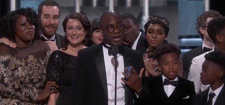 Barry Jenkins Best Picture Speech