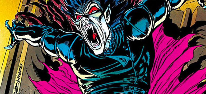 morbius movie first look