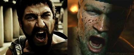Beowulf vs. 300