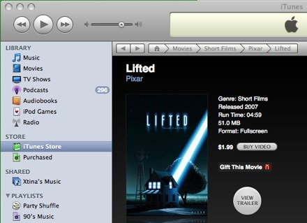 Lifted iTunes