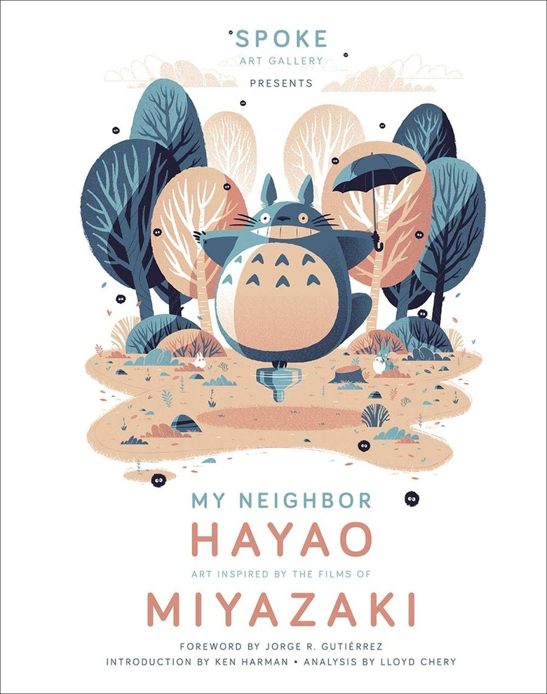 my neighbor hayao art book