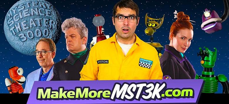 Mystery Science Theater 3000 Kickstarter New
