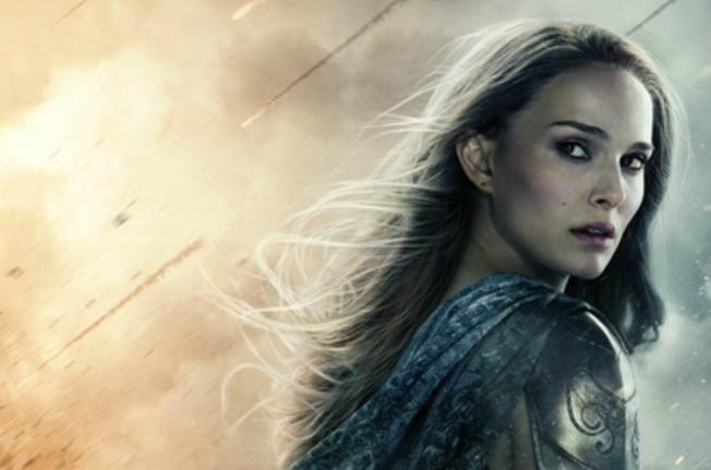 Natalie Portman as Jane Foster in Thor The Dark World