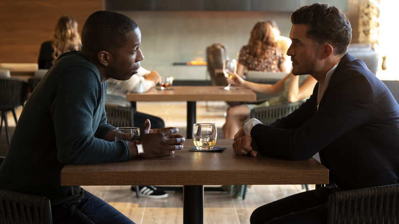 Needle In A Timestack Trailer: Orlando Bloom And Leslie Odom Jr. Star In A Sci-Fi Brain Bender