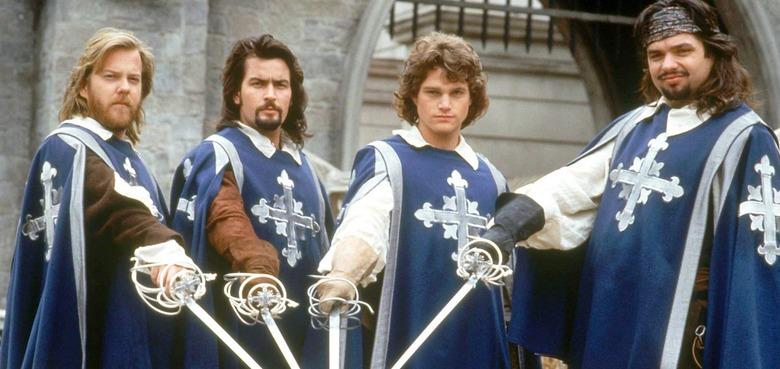 Netflix Three Musketeers Movie