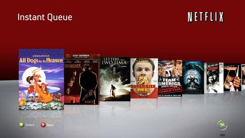 Netflix Streaming on Xbox 360