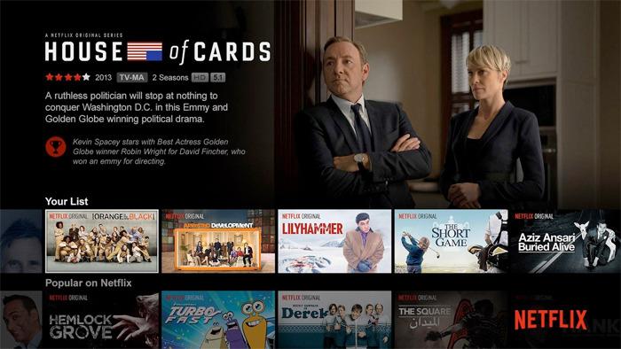 Netflix TV app update