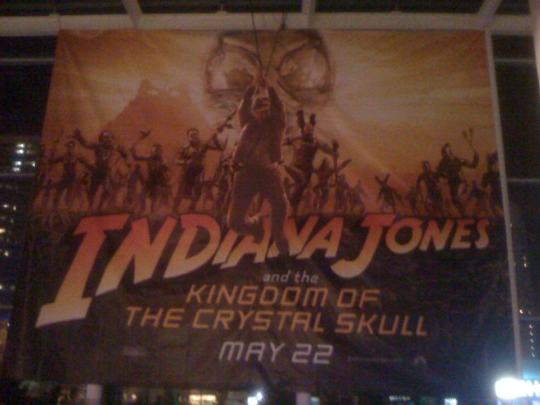 Indiana Jones 4 Banner