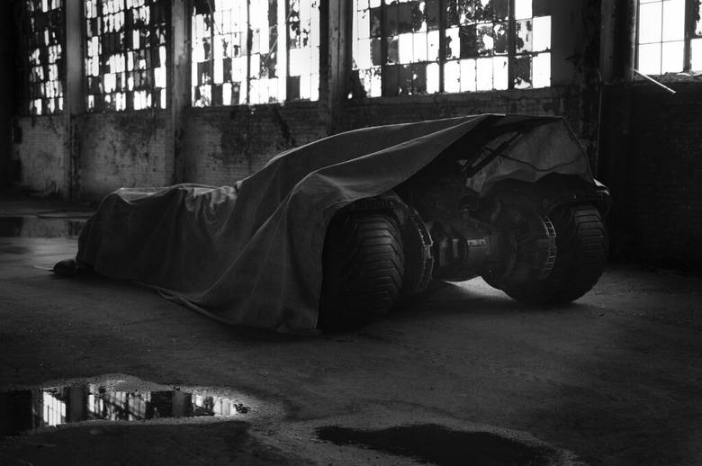 Batman vs. Superman Batmobile