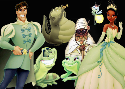 princess and the frog concept art