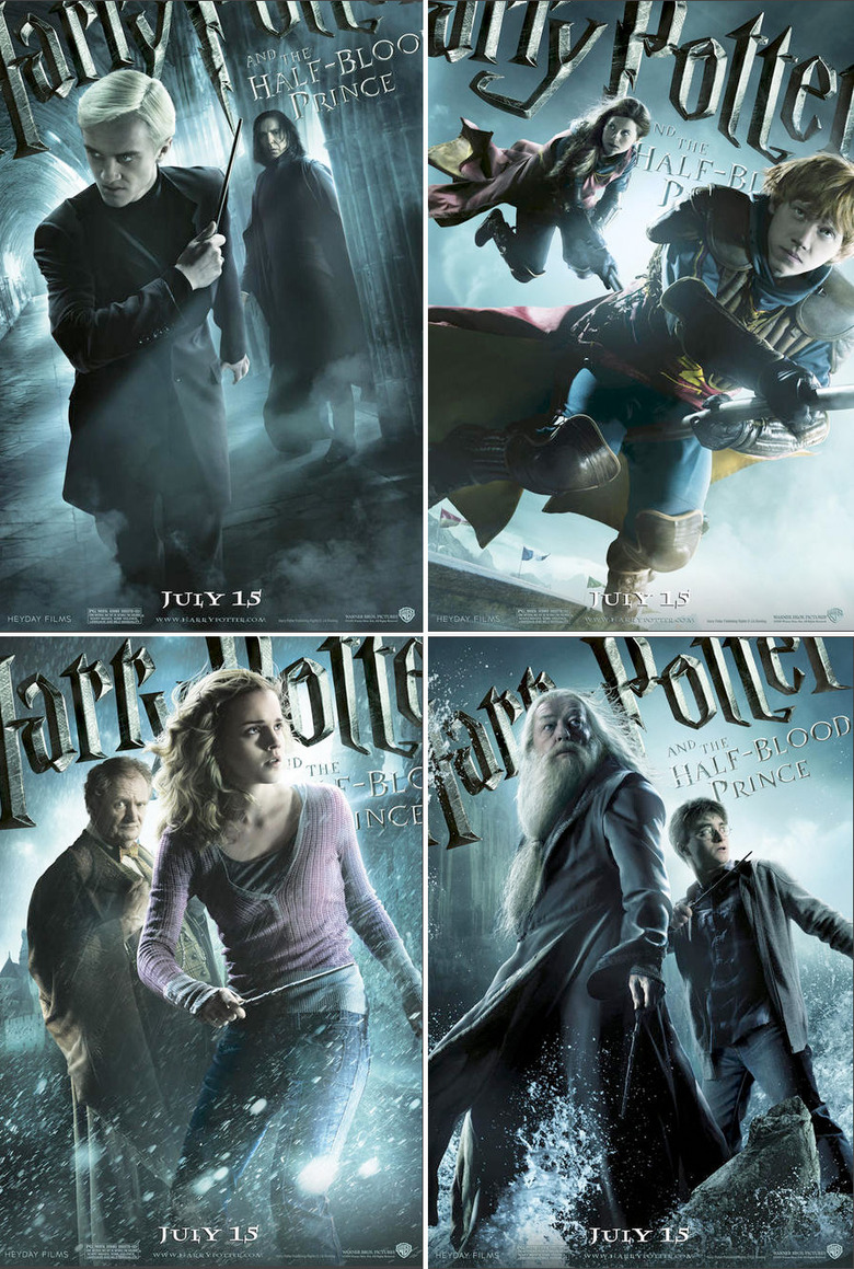 Harry Potter and the Half-Blood Prince character banners