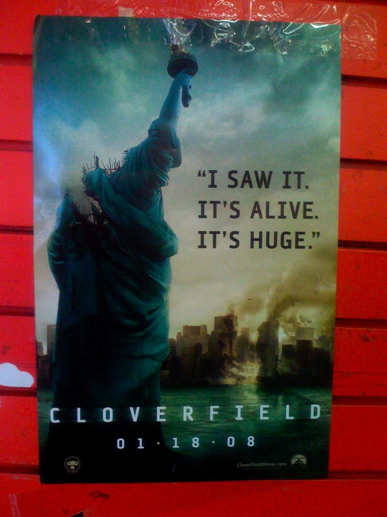 Cloverfield Viral Movie Poster