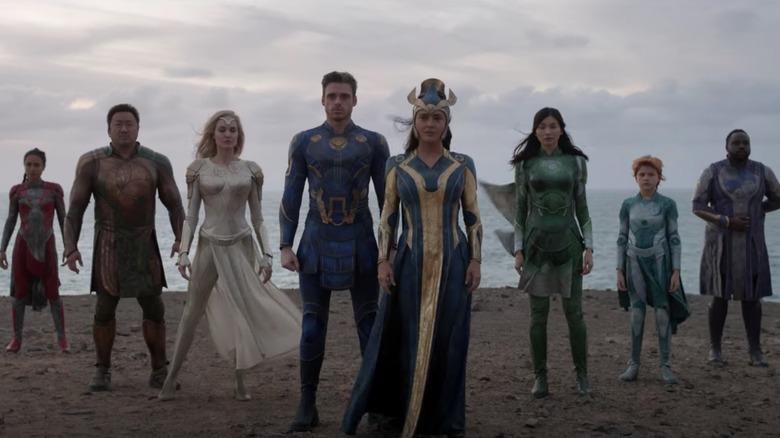New Eternals TV Spot Reveals Marvel Studios  First Gay Couple