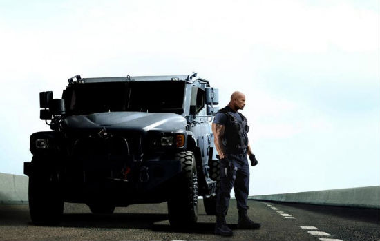 Fast and Furious 6 Johnson header
