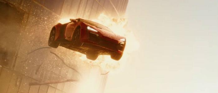 Furious 7 trailer flying car