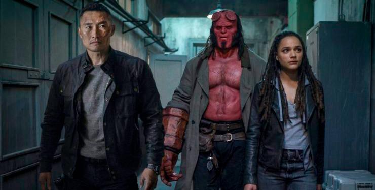 New Hellboy Photo