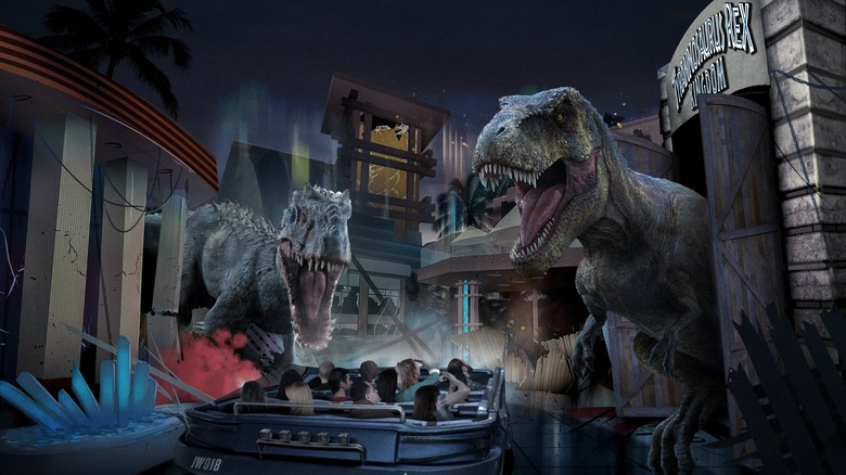 New Jurassic World Attraction Opens At Universal Beijing — Watch The Ride Footage
