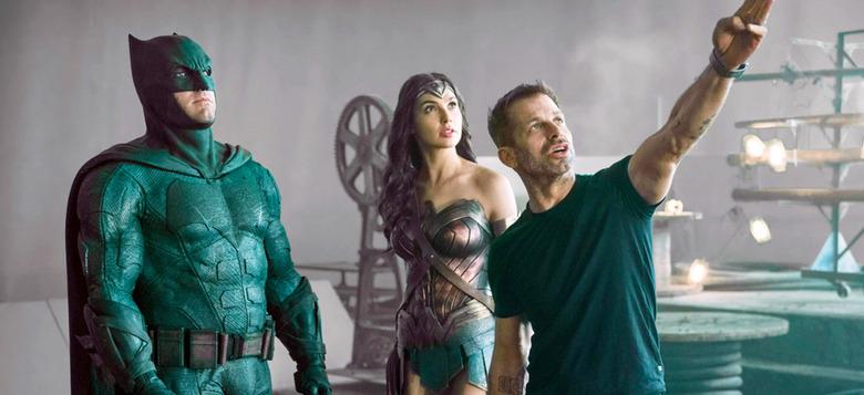 new justice league scenes