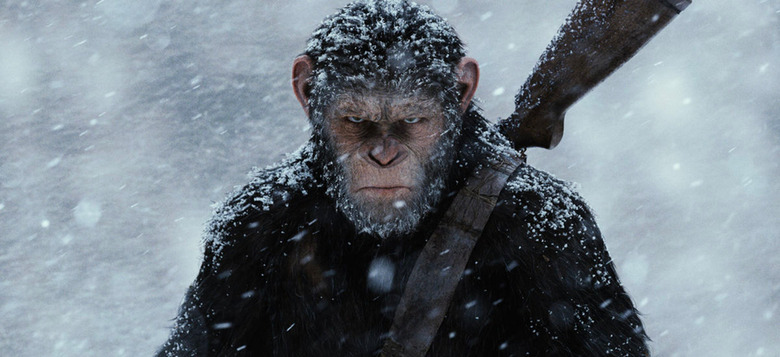new planet of the apes movie