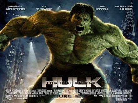 The Incredible Hulk Quad Poster