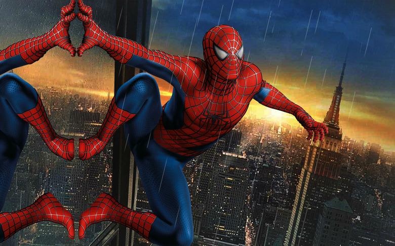 new spiderman suit?