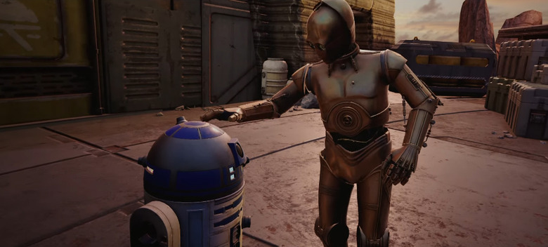 New Star Wars: Tales from the Galaxy's Edge Teaser