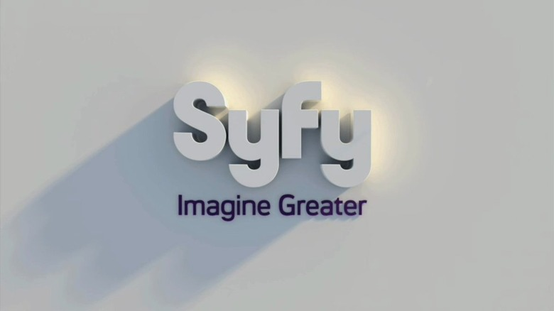 new Syfy logo
