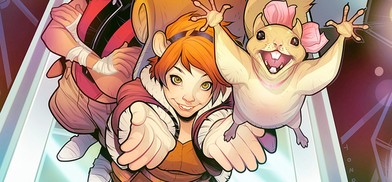 New Warriors TV Series Team - Squirrel Girl