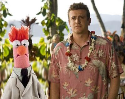 Jason Segel in the new Muppet Movie