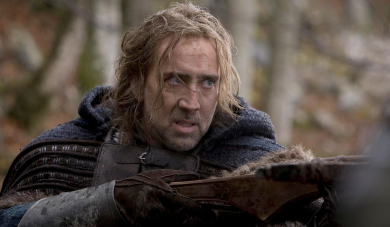 Nicolas Cage Lord of the Rings