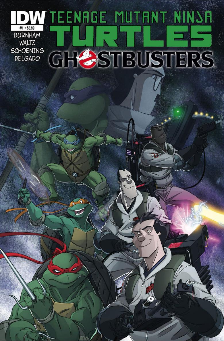 Ninja Turtles Ghostbusters