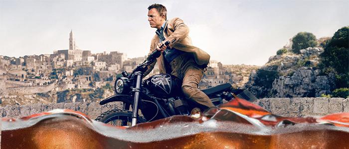 No Time to Die Motorcycle Stunt